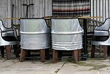 44 gallon drum chairs