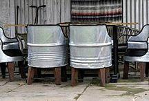 barrel chairs