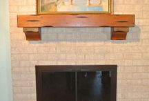 "Pearl Mantels® Featured on HGTV® / Pearl Mantels® Shenandoah Shelf helps give new life to a tired old fireplace setting. Featured on ""A Wrecked Rec Room,"" that appeared on HGTV's® House Hunters Revovation on 10/6/2013."