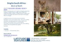 Newsletters and Special Offers / Latest news and Special offers and rates Honeymoon deals and stay longer for less