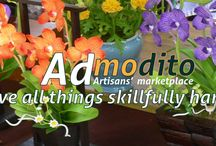"Artisans' Marketplace / ""We love all things skillfully handcrafted"" -All images copyright Admodito 2015-"