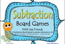 Math~ Subtraction / by Tara Repp