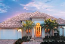 Small House Plans - Sater Design Collection / Luxury does not have to be large! These small house plans are less than 2800 square feet but are filled with all the luxury details that signify a Sater Design Collection home plan.