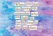 keep in mind...*