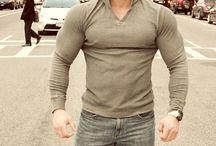 Muscle men clothes
