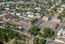 Joensuu ilmasta / Ilmakuvia Joensuusta, aerial photos from Joensuu