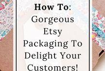 Etsy Biz / Etsy business tips, running a craft business, selling on Etsy, selling crafts & handmade