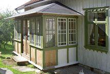 Arkitektur /trädgård