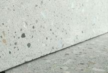 Pavimento in cemento e marmo spessore 1cm