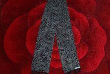 Stevelemod Scarves / Handmade Scarves Produced In England.