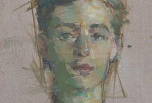 portrait love / by Kelly Berkey Paintings