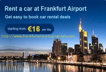 Frankfurt Airport Car Rentals / Frankfurt Airport Car Hire provides best car rental services.Just book and enjoy the fabulous ride to your holiday destination.