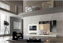 Zona Giorno / Pareti Attrezzate, Porta Tv, Contromobili, Vetrine, Ingressi, Librerie.  I migliori complementi d'arredo per una casa con stile.