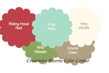Creativity Blooms Color Combos