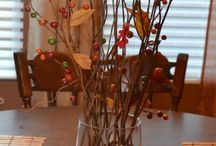 Fall decorations / by Sharon Mattheisen