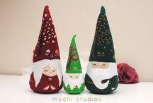 dekorcje świąteczne - pamperki