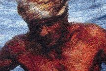 Photo Embroidery / With only needles and threads, Ercigoj Art recreates outstanding photos, some of them taken by renowned world photographers, and creates photo embroideries. On photo embroideries, faces become even more vivid, eyes sparkle, and landscapes are almost unbelievably breath taking. Observe beautiful shading, smooth transition, life-like wide colour spectrum and incredible image realism of these special form of art.