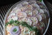 Salatalar süslemeler