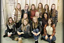 2017 Lady Tornadoes Varsity Girls BB