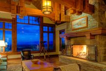 Living Areas / Modern, rustic, traditional living rooms and areas.