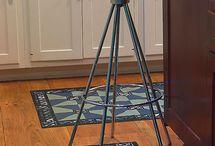 Canvas rug