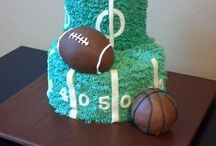 Cakes - Sports Theme / by Gloria Loveless Pepper