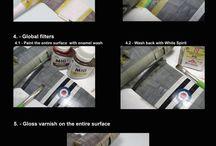 Pittura modellismo