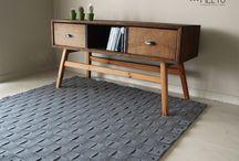 MELYO felt rugs / design Agnieszka Korzeń