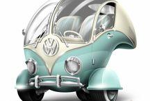 "VW Bulli / Volkswagen Bus T1 (Type 2) / VW Bulli (eng. ""Splittie"" or ""Splitty"") / by Bulli Lover"