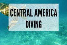 Central America Diving / Dream spots for scuba diving, free diving or snorkelling in Central America