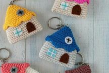 Crochet portachiavi