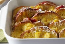 Good Morning - Breakfasts and Brunches / recipes for your next breakfast or brunch - eggs, bacon and everything in between