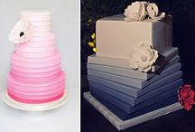 Ombré cakes / I am living the simplicity of ombré cakes at the moment!