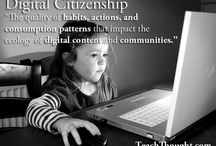 Digital Citizenship and Learning / This board highlights Digital Citizenship and 21st Century resources.