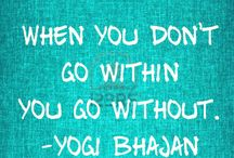 Yogi Bhajan quotes!  / by Gabby Bernstein