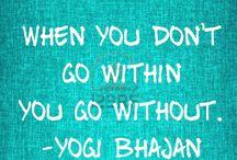 Yogi Bhajan quotes!