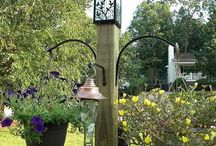 Bird feeders and landscaping ideas