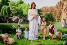 Jesus Christ / Images of Jesus and the love he had for all