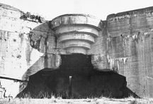 ATLANTIKWALL / In the end these bunkers obtained the role of the prestige monuments, witnessing not so much the power of the Third Reich as its obsession with disappearance. 