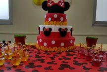 Festa Minnie 4 anos (menu café da tarde)