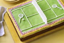 birthday cake tennis