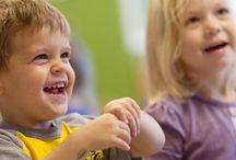 Pre-K Program / The Pre-K Program focuses on kindergarten preparedness, social finesse and a mastery of gross motor skills.