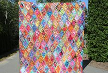Quilting / Colourful, interesting art quilts