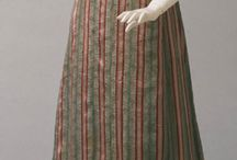 Жен костюм 1820-ые