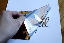 DIY Foil Pics/Prints