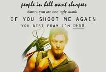 The Walking Dead/Zombie Stuff. / by Theresa Charron