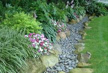 Gardening - dry river beds