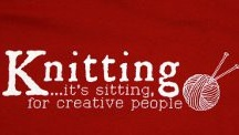 Knitting / ....It's sitting for creative people!