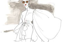 SKETCHES 2012 / BEAUTIFUL FASHION SKETCHES / by BETi