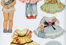 Bamboline di carta